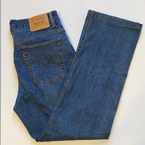 Levi's straight jeans size 14M